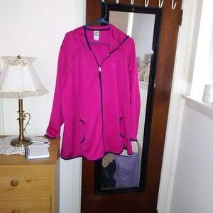 Brand new sweat nylon jacket